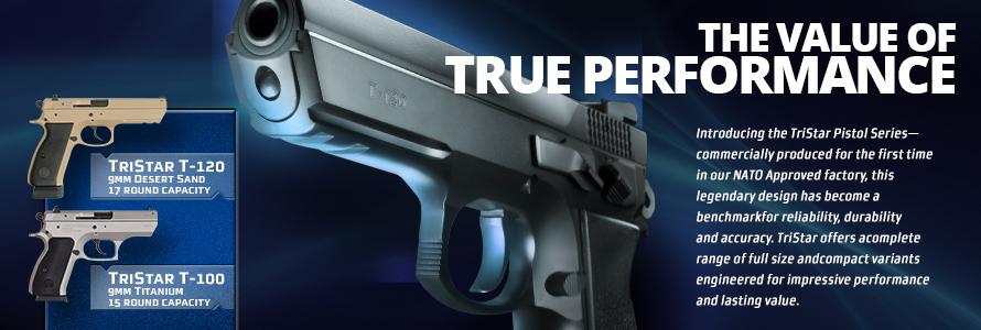 TriStar Pistol Series